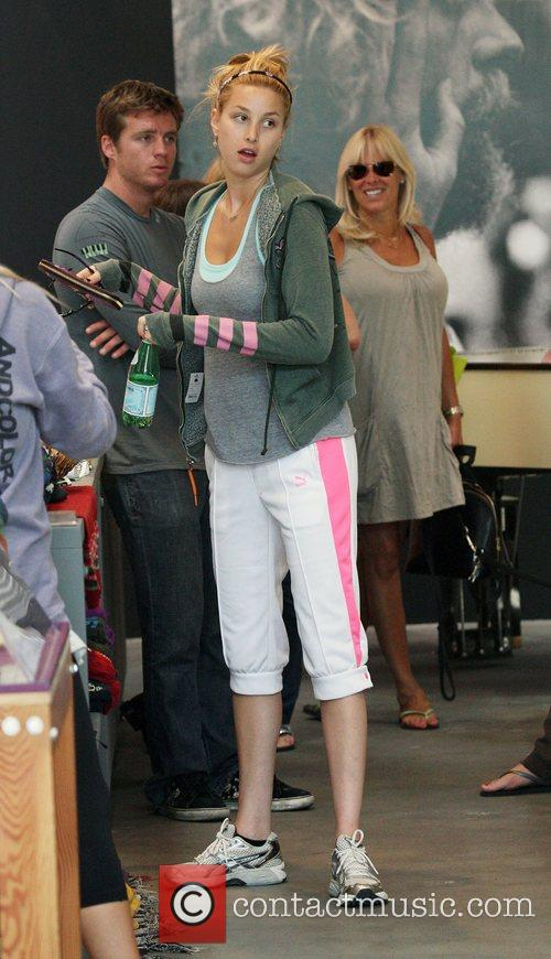 Whitney Port with friends shopping at Planet Blue...