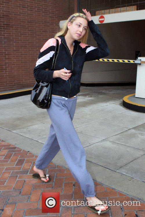 The Hills' Whitney Port leaving Beverly Hills Nail...