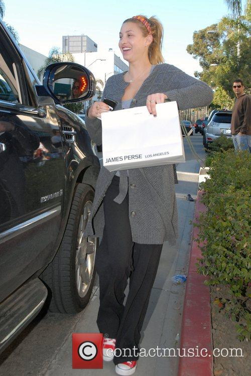 The Hills' Whitney Port carrying a shopping bag...