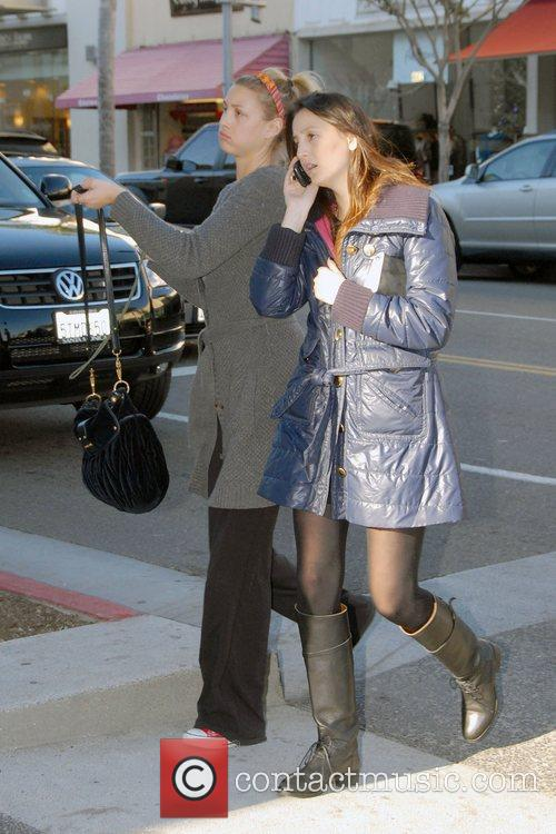 The Hills' Whitney Port out shopping in Beverly...