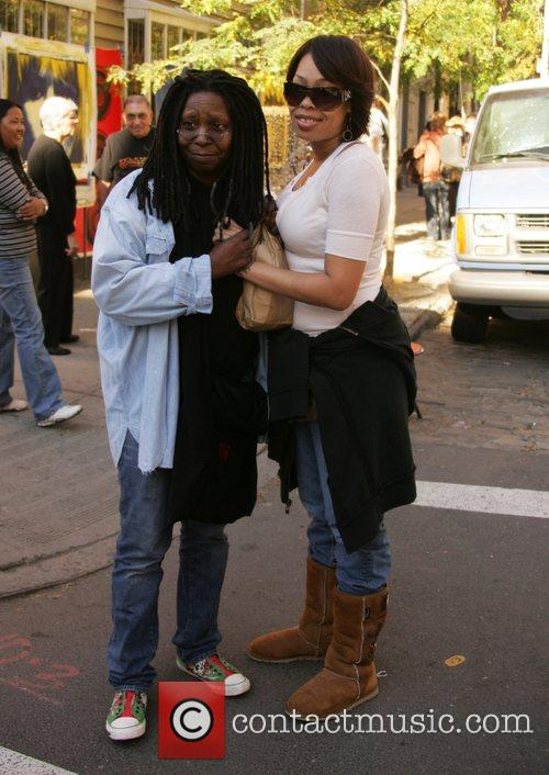Whoopi Goldberg and Daughter Alexandrea Martin 2