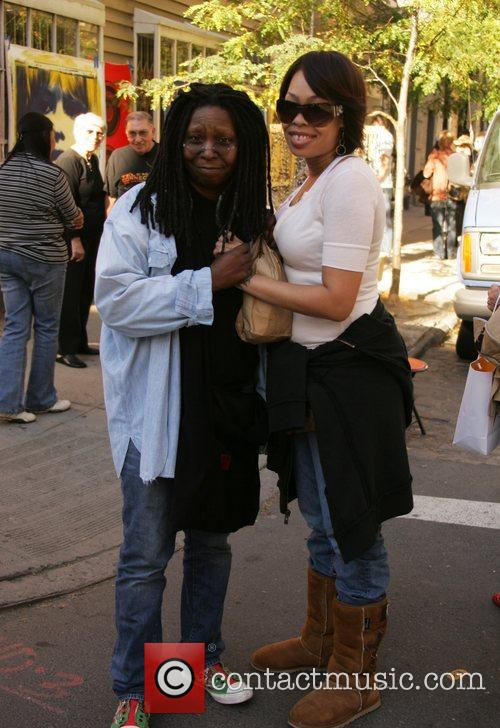 Whoopi Goldberg and Daughter Alexandrea Martin 6