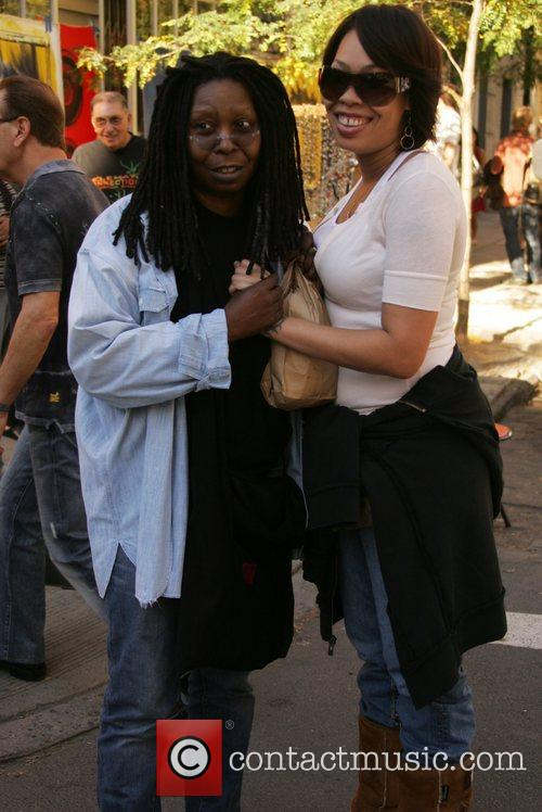 Whoopi Goldberg and Daughter Alexandrea Martin 4