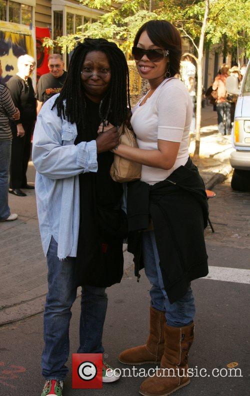 Whoopi Goldberg and Daughter Alexandrea Martin 5