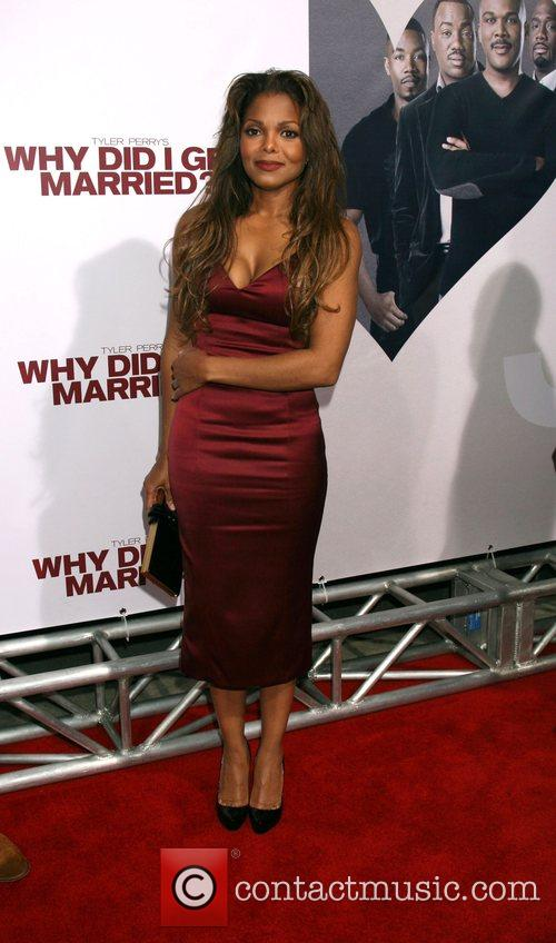 Janet Jackson World film premiere of 'Why Did...