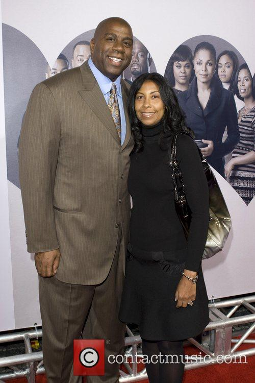 Earvin Magic Johnson and Earleatha 'cookie' Johnson 2