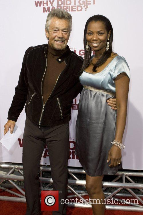 Stephen J. Cannell and Vanessa Williams  World...