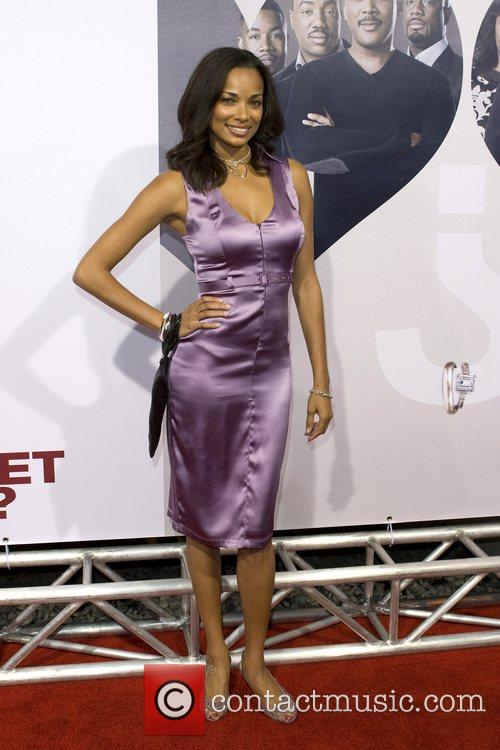 Rochelle Aytes World film premiere of 'Why Did...