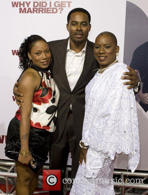 Lamman Rucker and family World film premiere of...