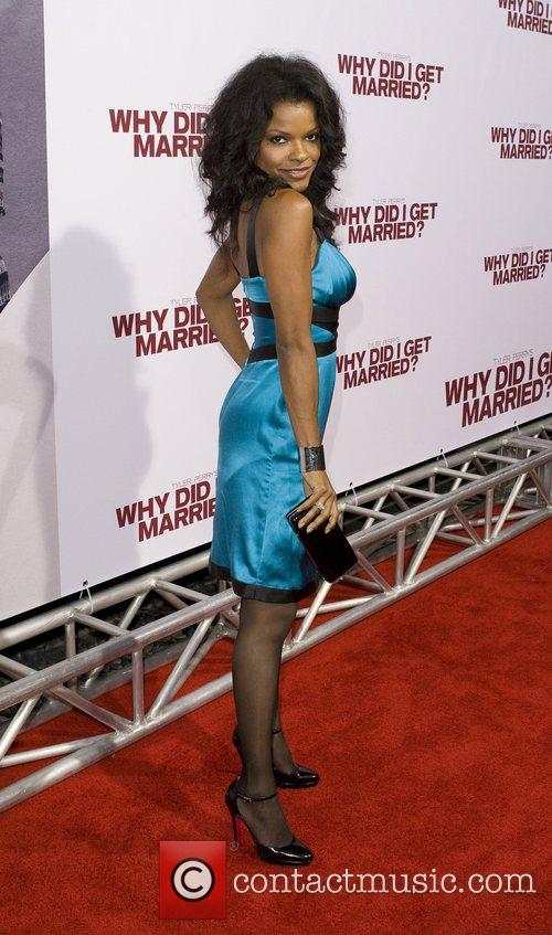 Keesha Sharp World film premiere of 'Why Did...