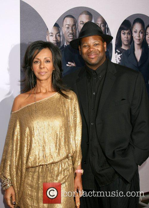 Jimmy Jam Harris and his wife Lisa World...