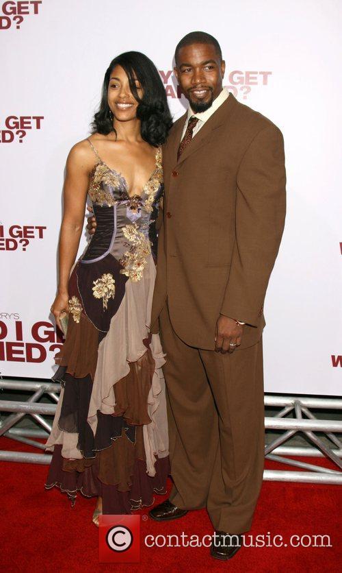 Michael Jai and Courtenay White  World film...