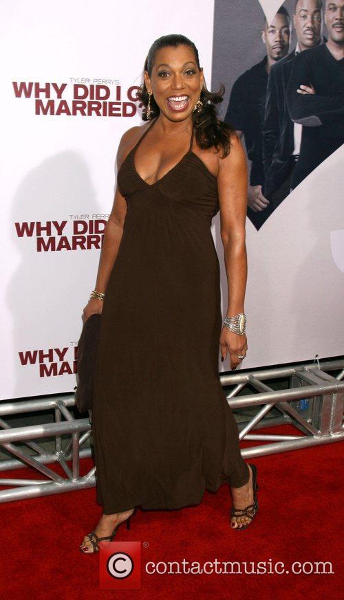 Rolanda Watts World film premiere of 'Why Did...