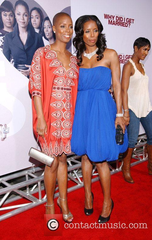 Tasha Smith and Guest World film premiere of...