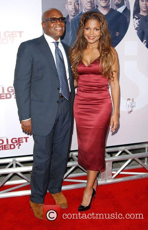 Janet Jackson and Guest World film premiere of...