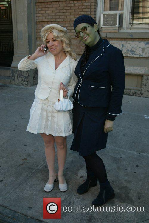 Wicked Fans in costume  at the grand...