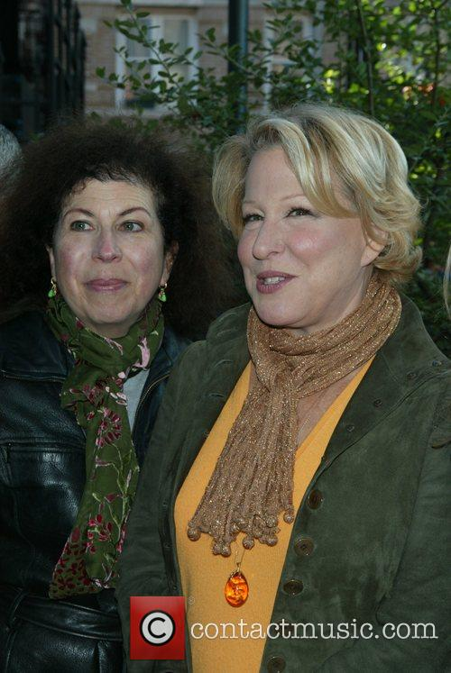 Winnie Holzman and Bette Midler at the grand...