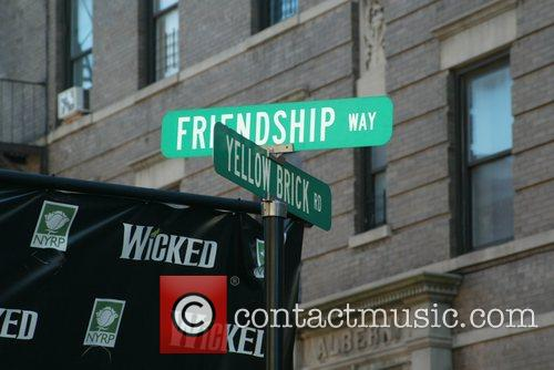'Friendship Way' at the grand opening of the...