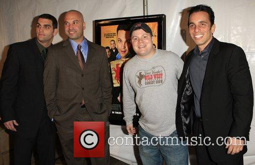 Bret Ernst, Ahmed Ahmed, John Caparulo and Sebastian Maniscalco