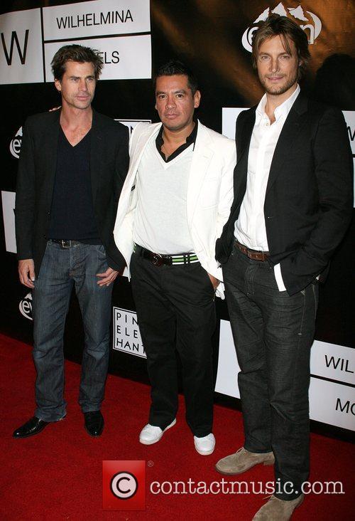 Mark Vanderloo, Sean Patterson and Gabriel Aubrey Wilhelmina...