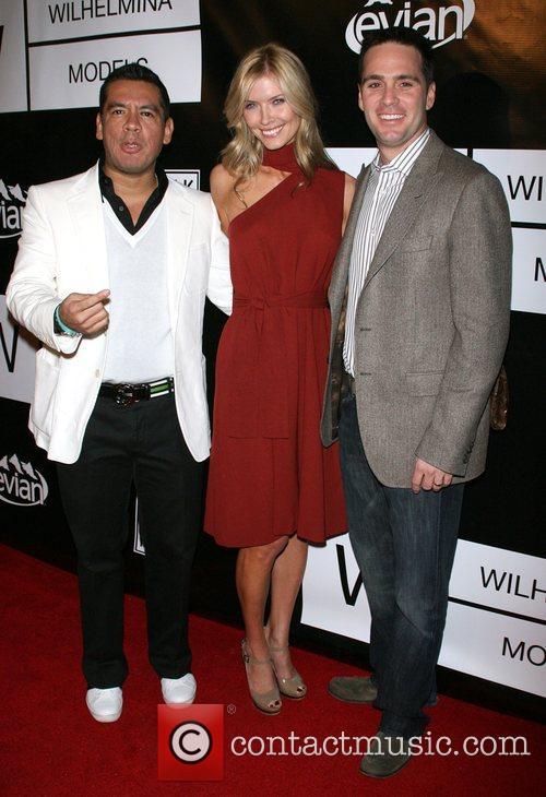 Sean Patterson, Chandra Johnson and Jimmie Johnson Wilhelmina...