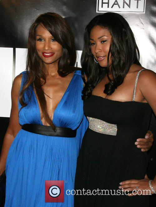 Beverly Johnson and Anansa Johnson Wilhelmina models celebrate...