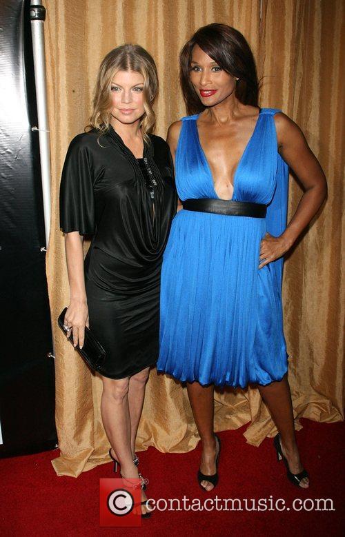 Fergie (Stacy Ferguson) and Beverly Johnson Wilhelmina models...