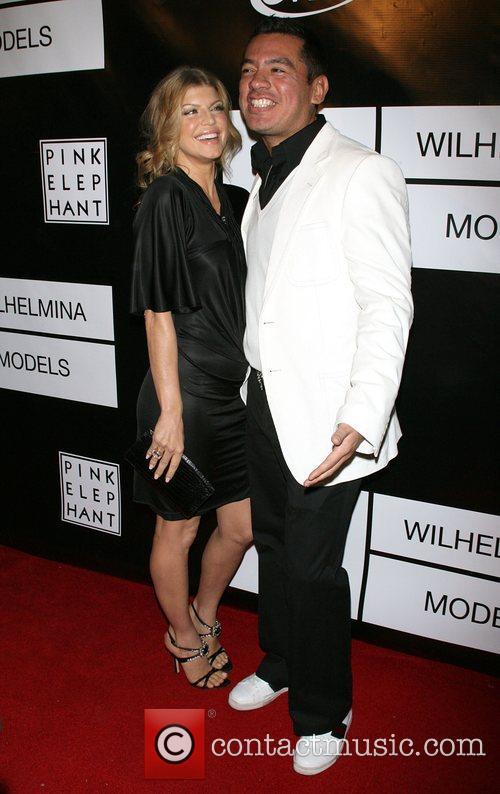 Fergie (Stacy Ferguson) and Sean Patterson Wilhelmina models...