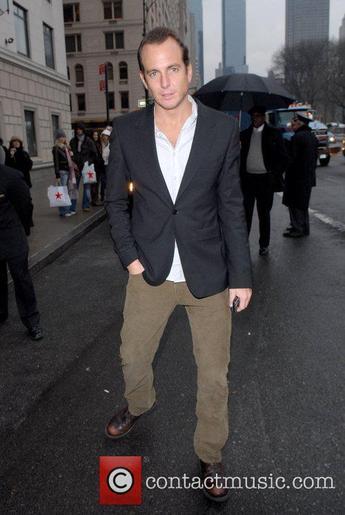 Will Arnett  out and about in Midtown...