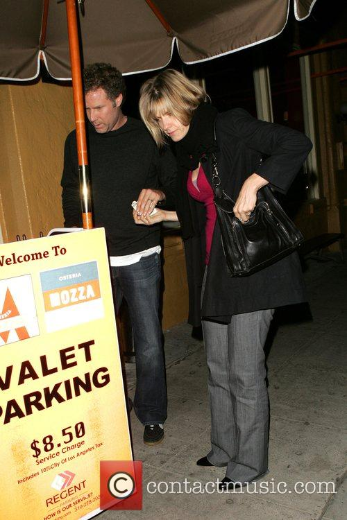 Will Ferrell and his wife Viveca Paulin His...