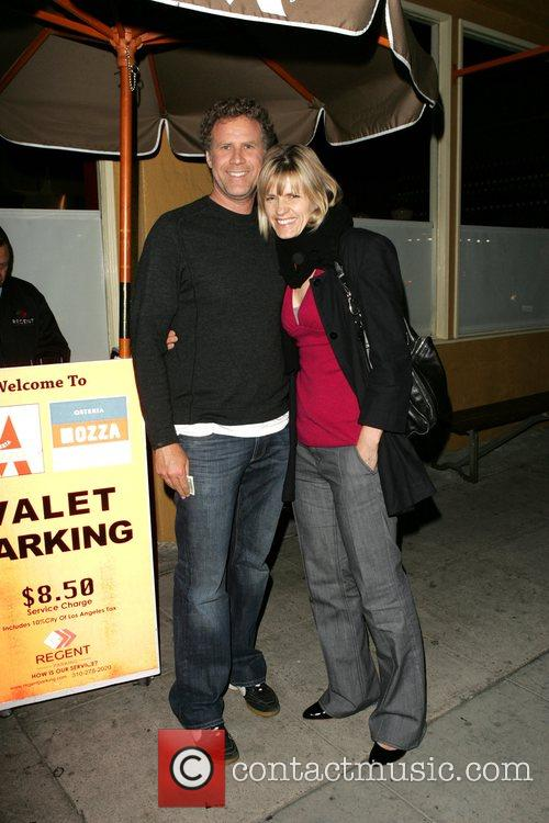 Will Ferrell and His Wife Viveca Paulin 8