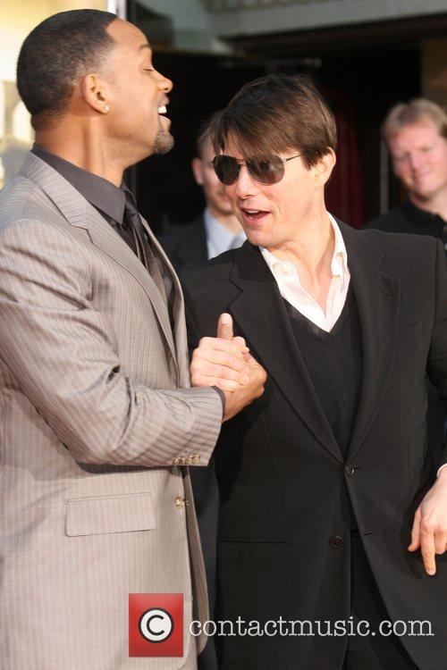 Tom Cruise at Will Smith Handprint and Footprint...