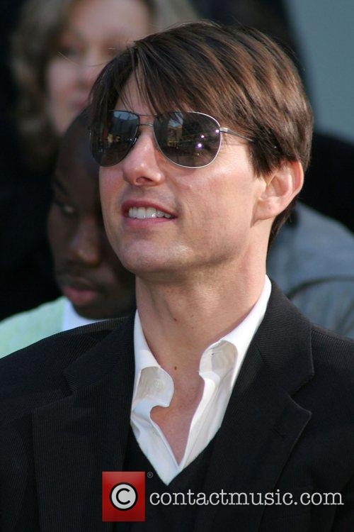 Tom Cruise Will Smith Handprint and Footprint Ceremony...
