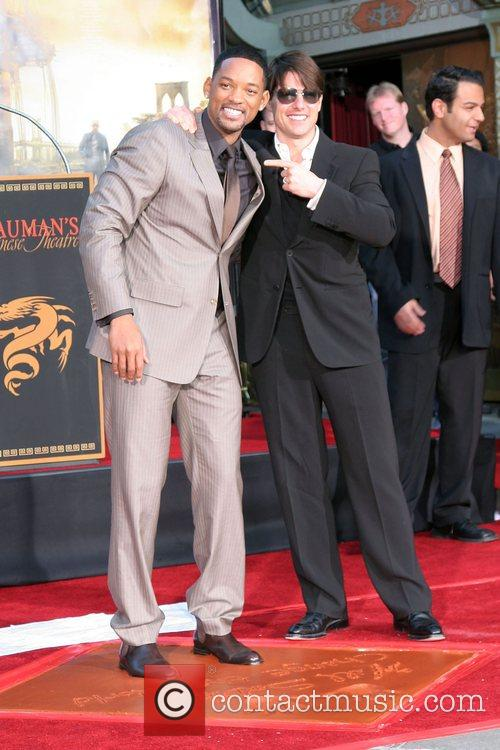 Will Smith and Tom Cruise Will Smith Handprint...