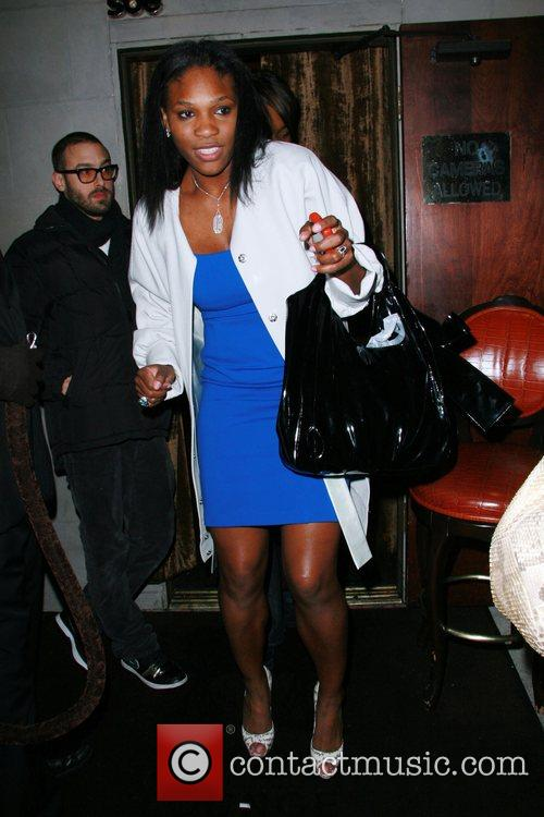 Serena Williams at the Hyde Lounge