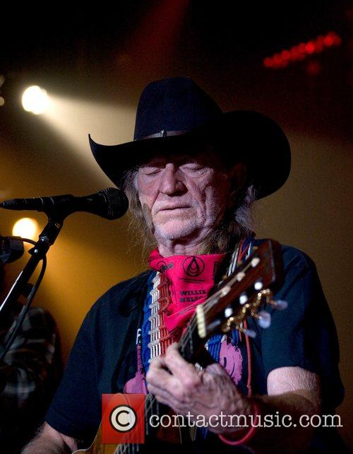 Willie Nelson performing at the 'Hard Rock's 2007...