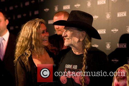 Annie Nelson and Willie Nelson at the 'Hard...