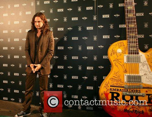 Constantine Maroulis finalist of American Idol in 2005,...