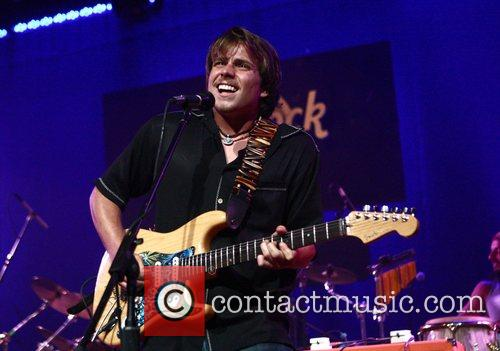 Lukas Nelson - Willie Nelson's son performs at...