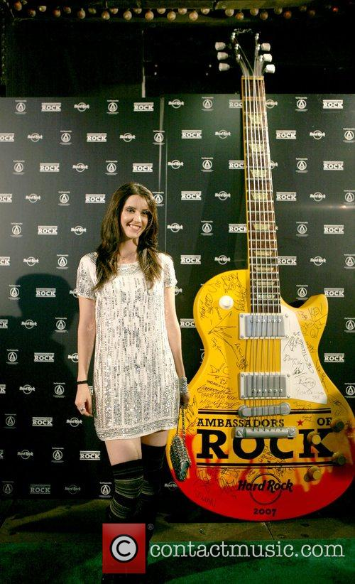 Alana Grace  emerging singer/songwriter at the 'Hard...