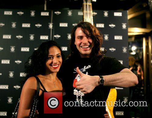 Cherie Lily and Andrew W.K - musicians at...