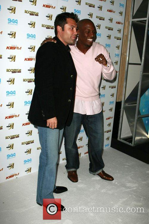 Oscar De La Hoya and Tyrese 5