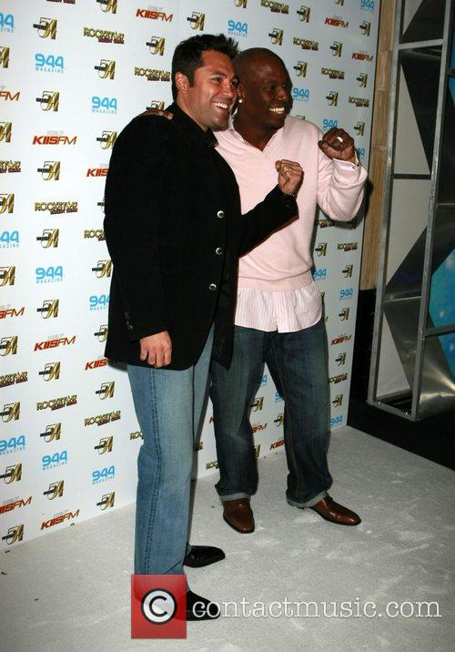 Oscar De La Hoya and Tyrese 8
