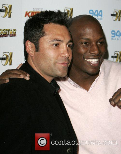 Oscar De La Hoya and Tyrese 3
