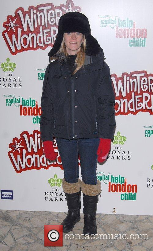 Edith Bowman Winter Wonderland - launch party in...