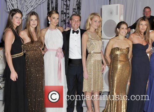 Winter Wonderland Ball Chairmen including Molly Sims and...