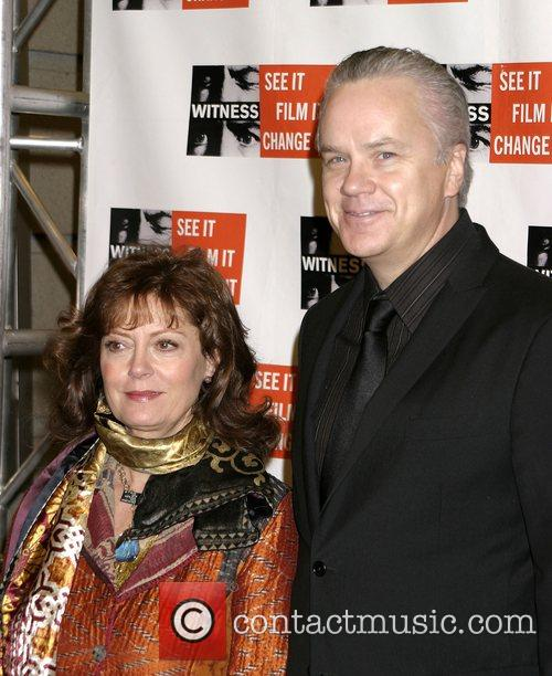 Susan Sarandan and Tim Robbins Witness focus for...