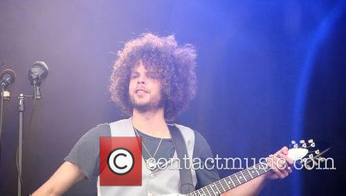 Wolfmother performing live at the Pinkpop Festival 2007