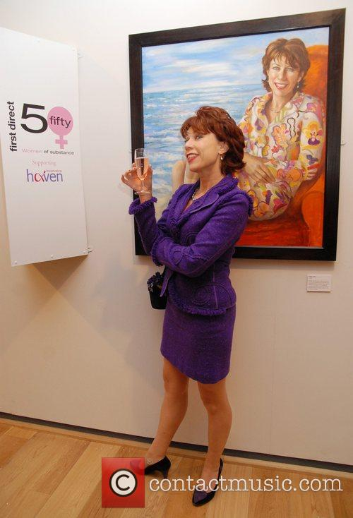 Kathy Lette First Direct 50 Women of Substance...