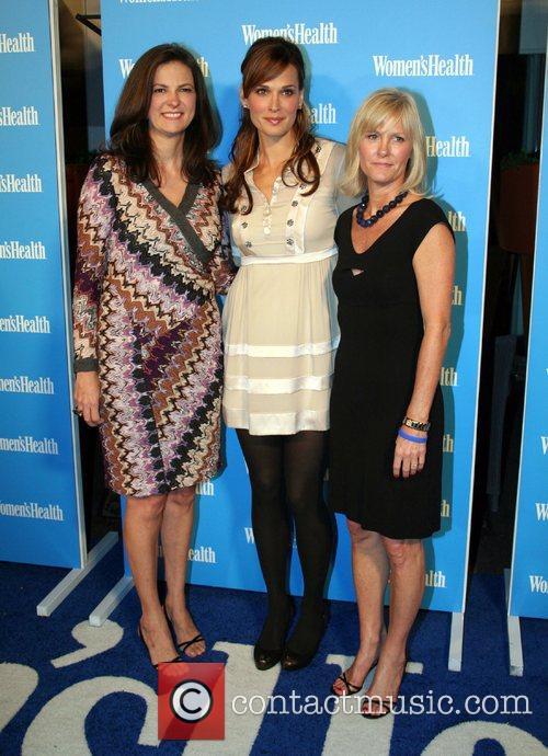Women's Health magazine celebrates it's premier 'Blue Issue',...
